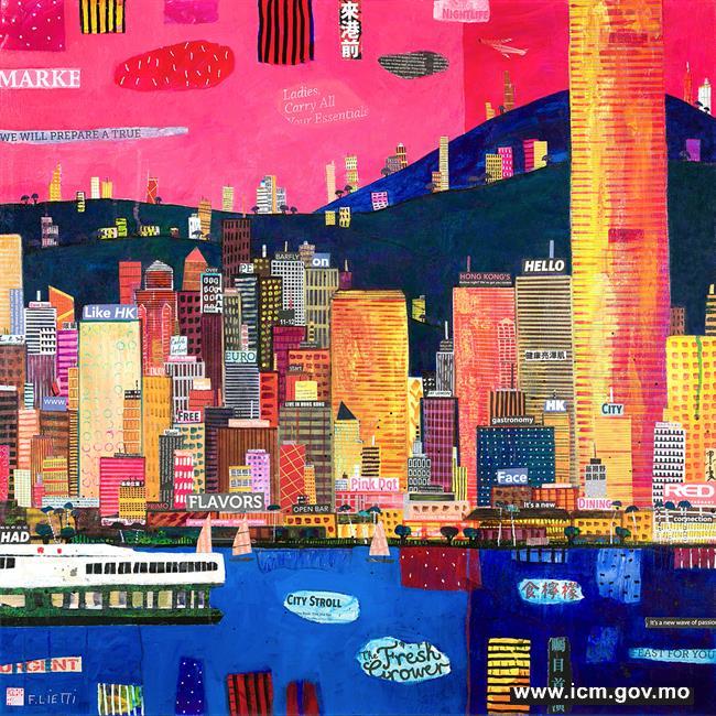 20190610100207_02-新一波熱情 (2018) 弗朗西斯科‧列蒂布本綜合媒材 80x80厘米_jpg