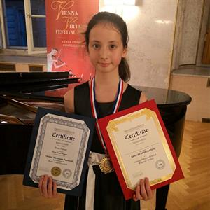 文化局演藝學院大提琴學生維也納比賽奪冠